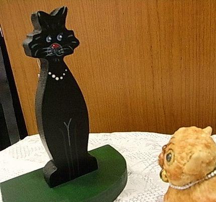 こんにちわ黒猫ちゃん